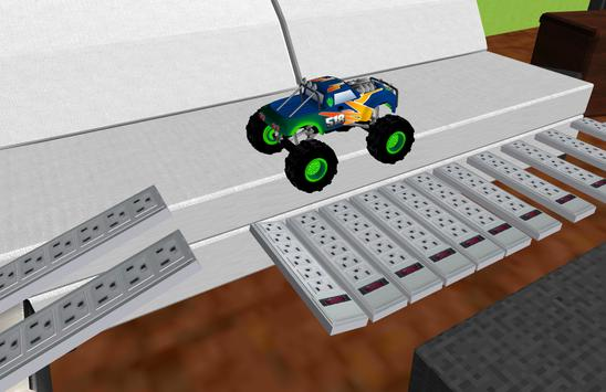 Monster Truck Racing 3D screenshot 2