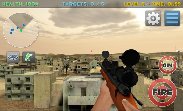 Sniper Commando Assassin 3D screenshot 18