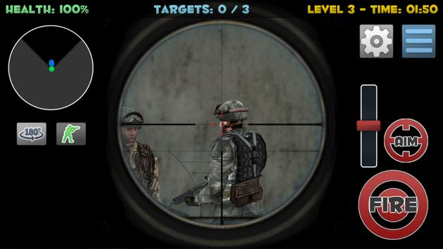 Sniper Commando Assassin 3D screenshot 1