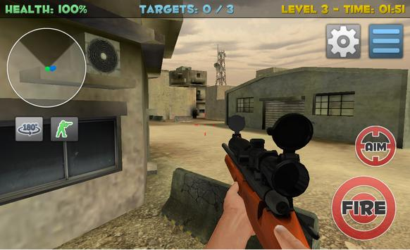Sniper Commando Assassin 3D screenshot 3