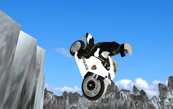 Motorbike Extreme Driving 3D poster