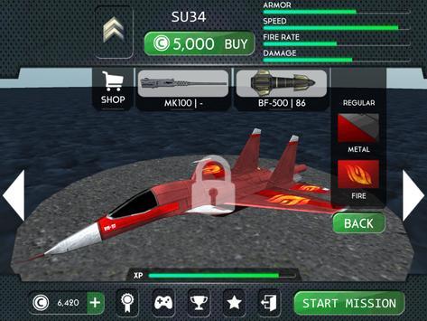 Airplane Flight Battle 3D apk screenshot