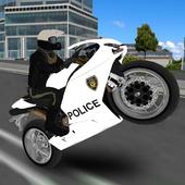 Police Moto Bike Simulator 3D icon