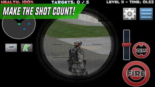 Sniper Shooter Assassin Siege screenshot 1