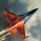 Airplane Carrier Fighter Jet icon