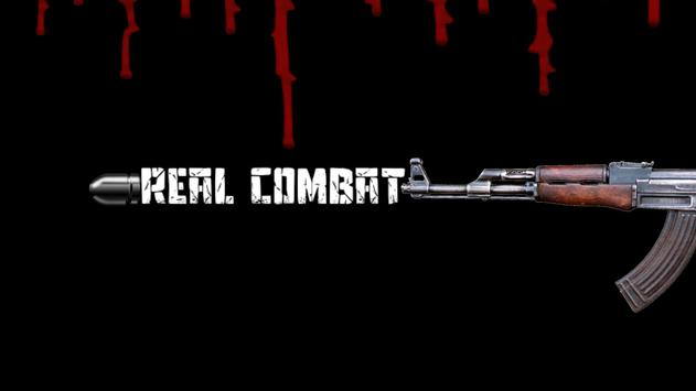 Real Combat AR poster