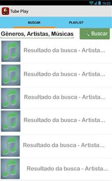 Tube MP3 Player screenshot 1