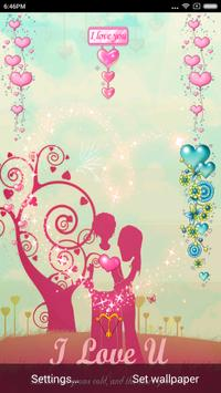 I Love You Valentine Wallpaper poster