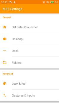 MIUI Launcher apk screenshot
