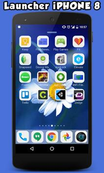 Launcher For iPhone 8 poster