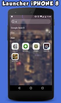 Launcher For iPhone 8 apk screenshot