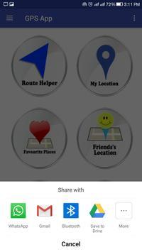 GPS Route screenshot 2