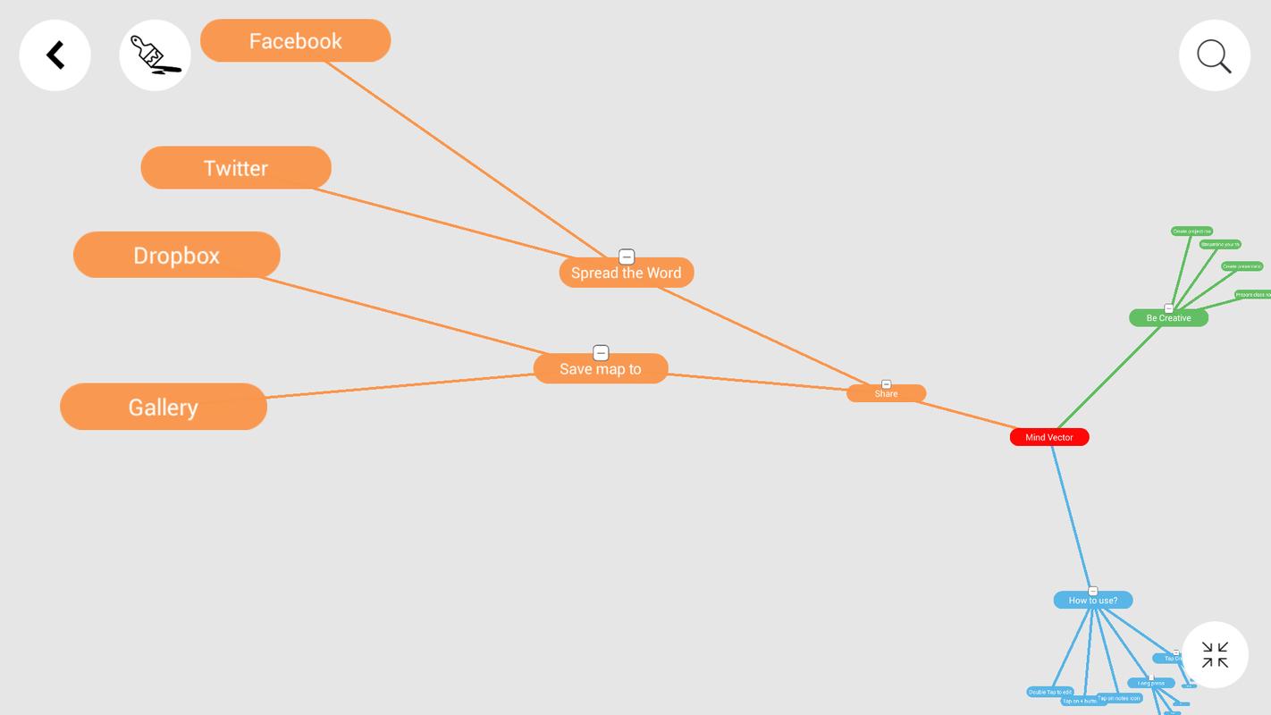 Mind Vector - Mind Mapping App für Android - APK herunterladen on