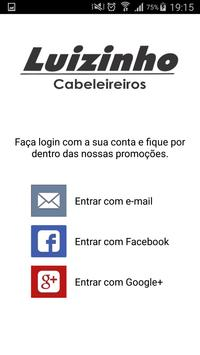 Luizinho Cabeleireiros screenshot 1