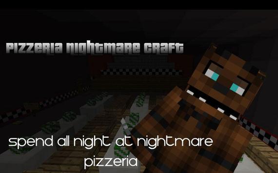 Pizzeria Nightmare Craft poster