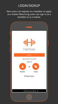 Helthee: On Demand Fitness poster