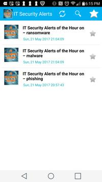 IT Security Alerts- Malware, Ransomware & Phishing poster