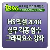 MS 엑셀 2010 실무 각종 함수 그래픽요소 강좌 icon