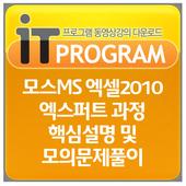 모스MS 엑셀2010 엑스퍼트 과정 핵심/모의문제풀이 icon