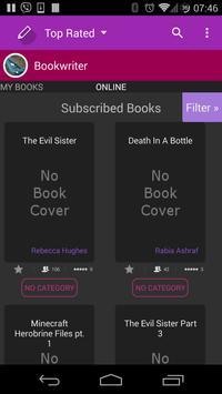 Book Writer Free screenshot 1