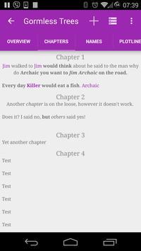 Book Writer Free screenshot 4