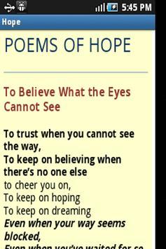 Hope in Difficult Times apk screenshot