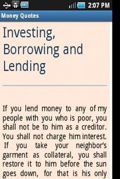 Money Quotes screenshot 4