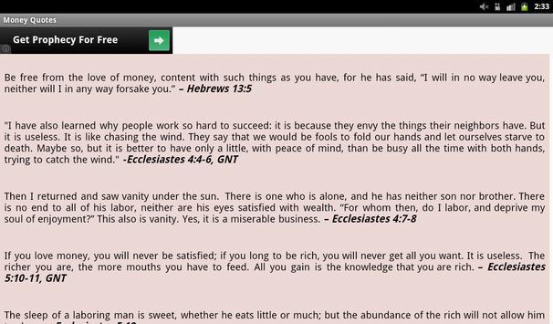 Money Quotes screenshot 9