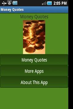 Money Quotes poster