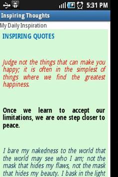 My Daily Inspiration screenshot 2