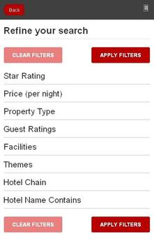 Gardaland Hotel booking screenshot 2