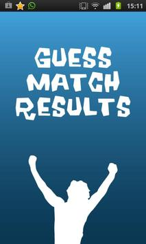 Guess Match Results poster