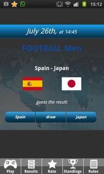 Guess Match Results apk screenshot