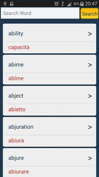 Italian Dictionary - Offline poster