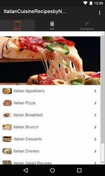 Italian Cuisine Recipes poster