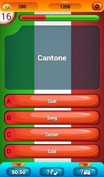 Italian Vocabulary Quiz screenshot 9