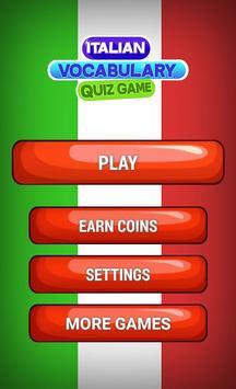 Italian Vocabulary Quiz poster