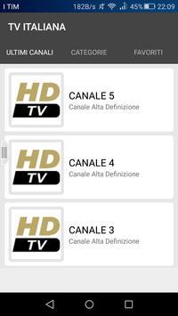 TV ITALIANE screenshot 2