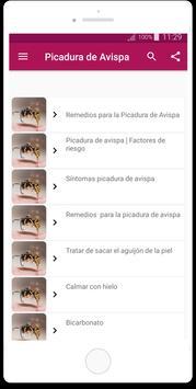 Remedios para la Picadura de Avispa poster