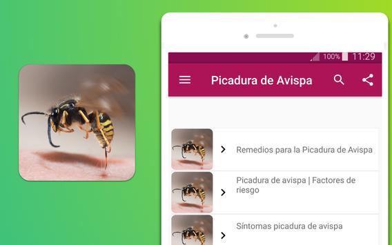 Remedios para la Picadura de Avispa screenshot 2