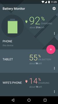 Cross-Device Battery Monitor الملصق