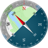 Digital Compass 360 Free - Compass Maps Fengshui icon