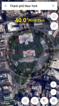 Digital Compass 360 Free - Compass Maps Fengshui screenshot 4