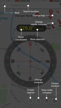 Digital Compass 360 Free - Compass Maps Fengshui screenshot 5