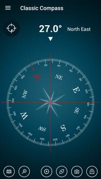Digital Compass 360 Free - Compass Maps Fengshui poster