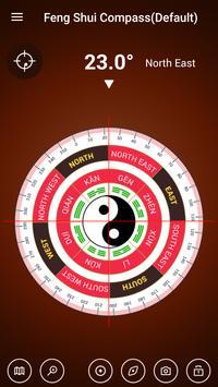 Digital Compass 360 Free - Compass Maps Fengshui screenshot 3