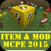 Item & Mod MCPE 2015 icon
