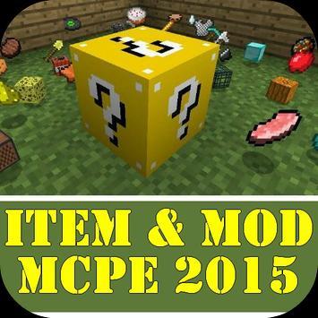 Item & Mod MCPE 2015 poster