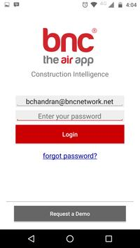 BNC AIR App poster