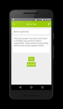 Let Us Pray Together apk screenshot